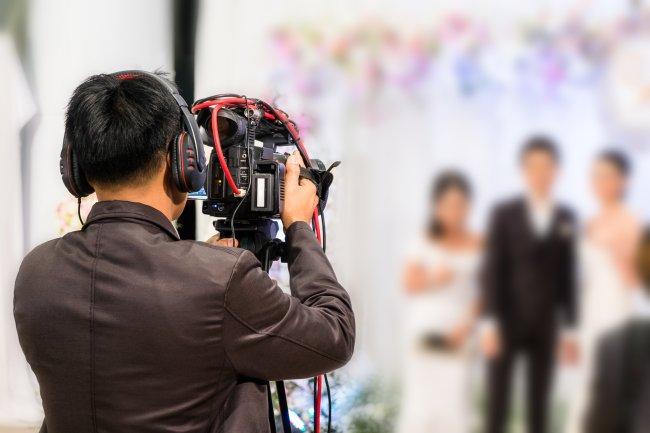 Filmowanie wesela